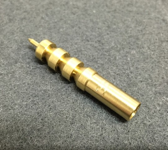 .38/.357/9mm Caliber Brass Jag - Female Threaded