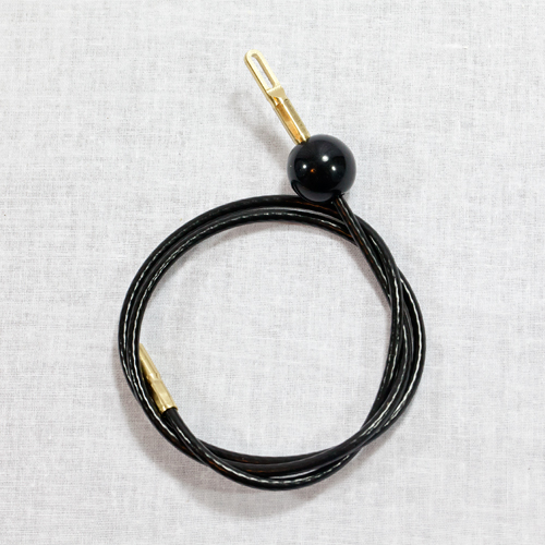 .22 to .27 Caliber Nylon Coated Pull Through Cable - 30 Inches