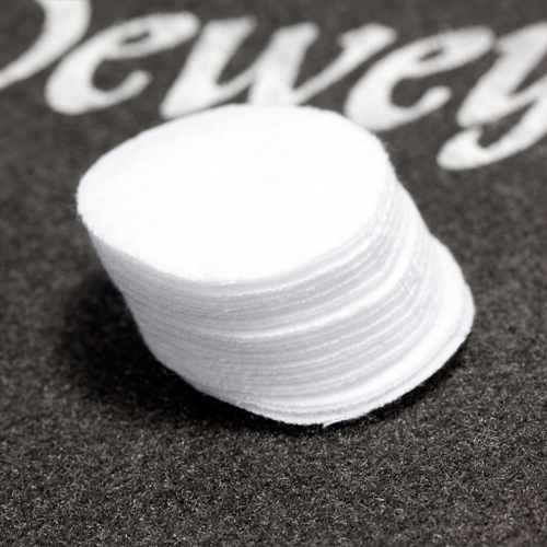 "1-1/4"" Round Patches Bulk - 1000/Bag"